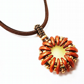 SPECIAL OFFER CLASS NEW Luminosa Beadwork Pendant Class - Saturday 27th May 2017 11am to 1pm
